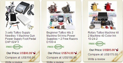 Tattoo Supplies: Tattoo Kit Related Article