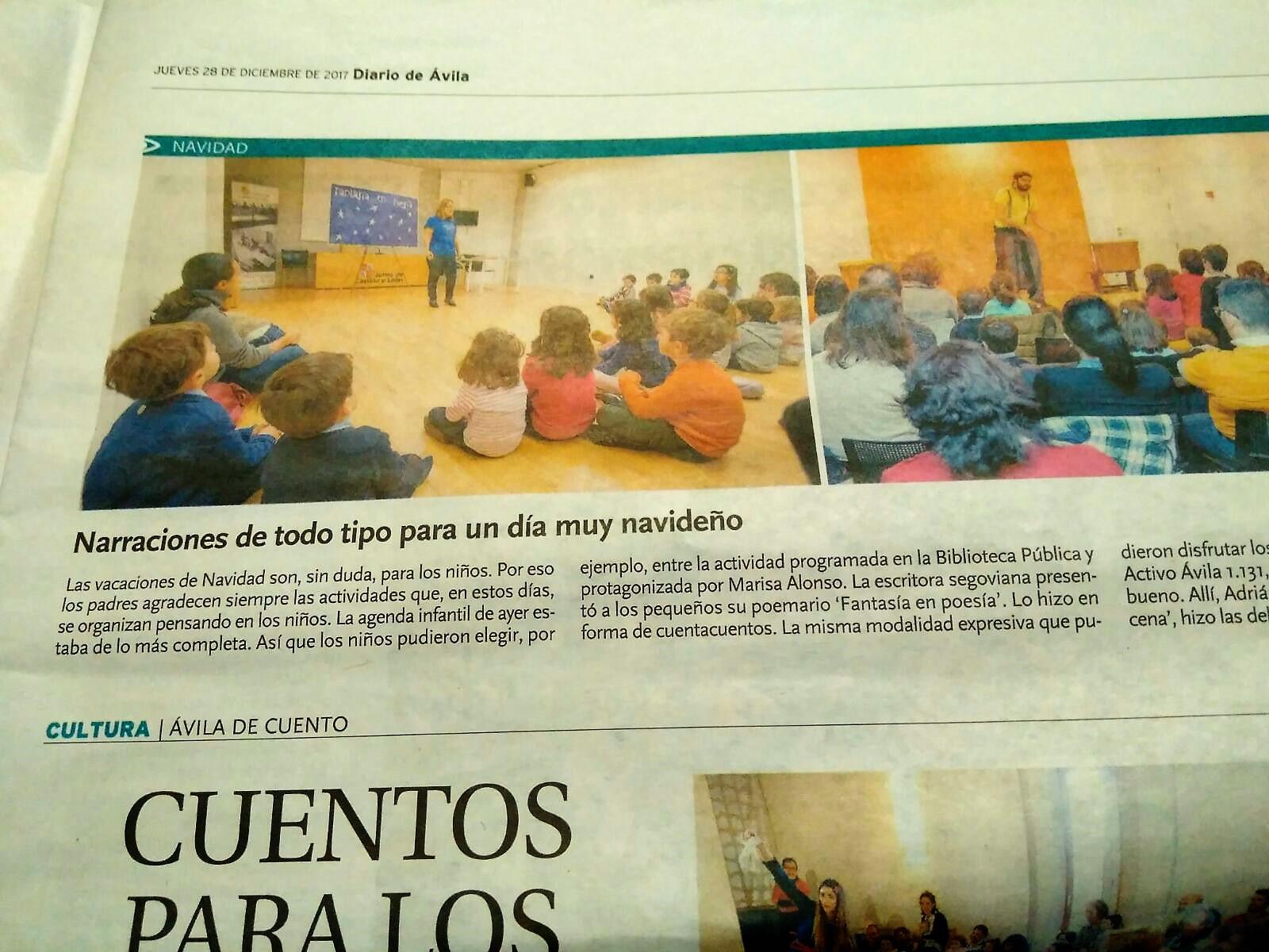 En la Biblioteca Pública de Ávila