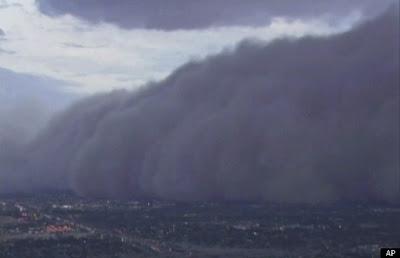 fotos tormenta de arena en arizona 5 julio 2011