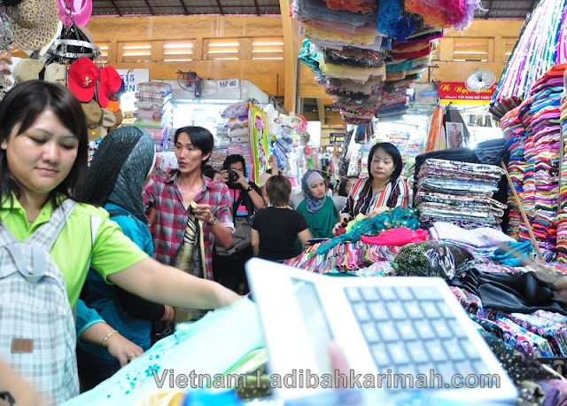 Free holiday to Ho Chi Minh City Vietnam for premium beautiful buying clothes in market