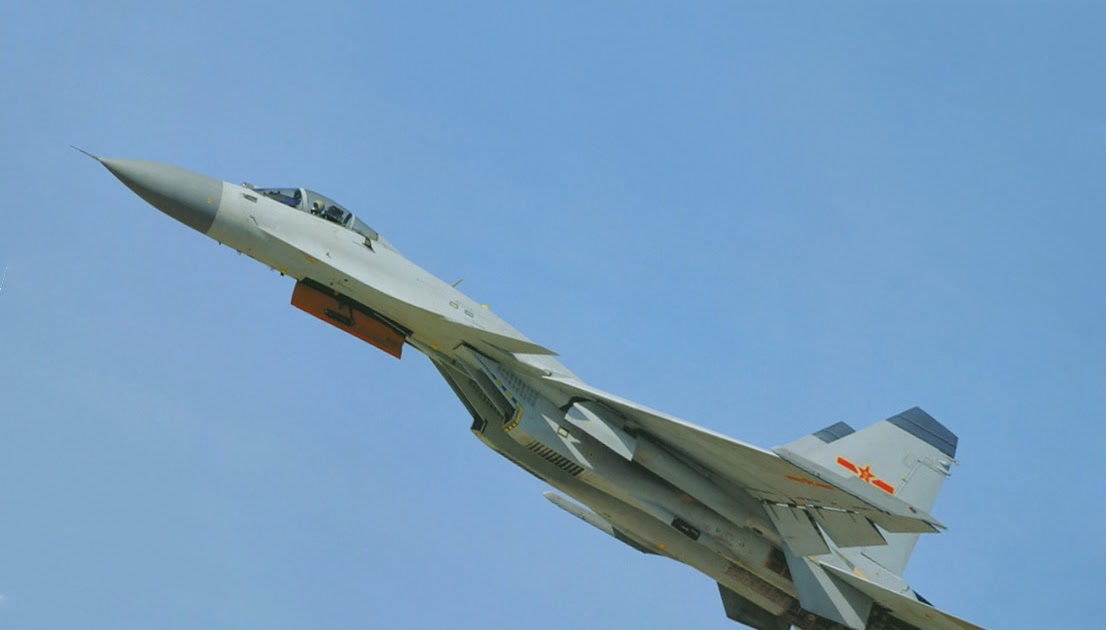 New Images Of Chinese J-15 Flying Shark Naval Fighter Jet ...