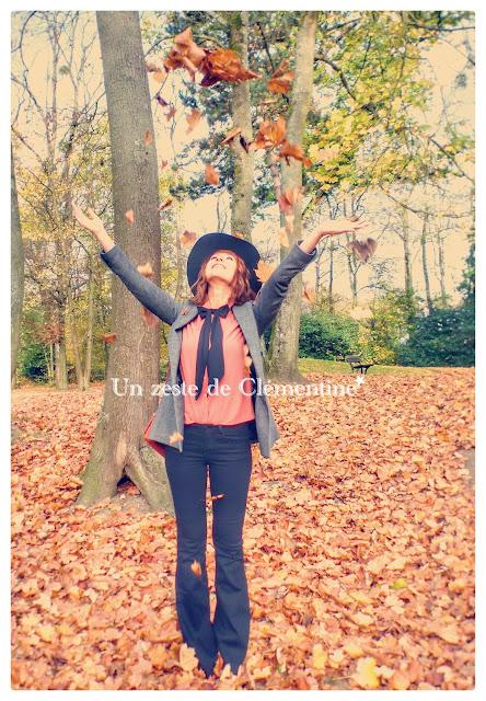 chapeau jean flare veste blog mode tendance 2016