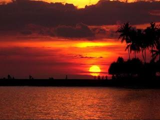 Foto Keindahan Sunset