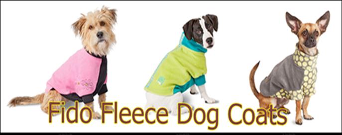 fido fleece dog coats best selection fido fleece quick ship all fido fleece dog coats are. Black Bedroom Furniture Sets. Home Design Ideas