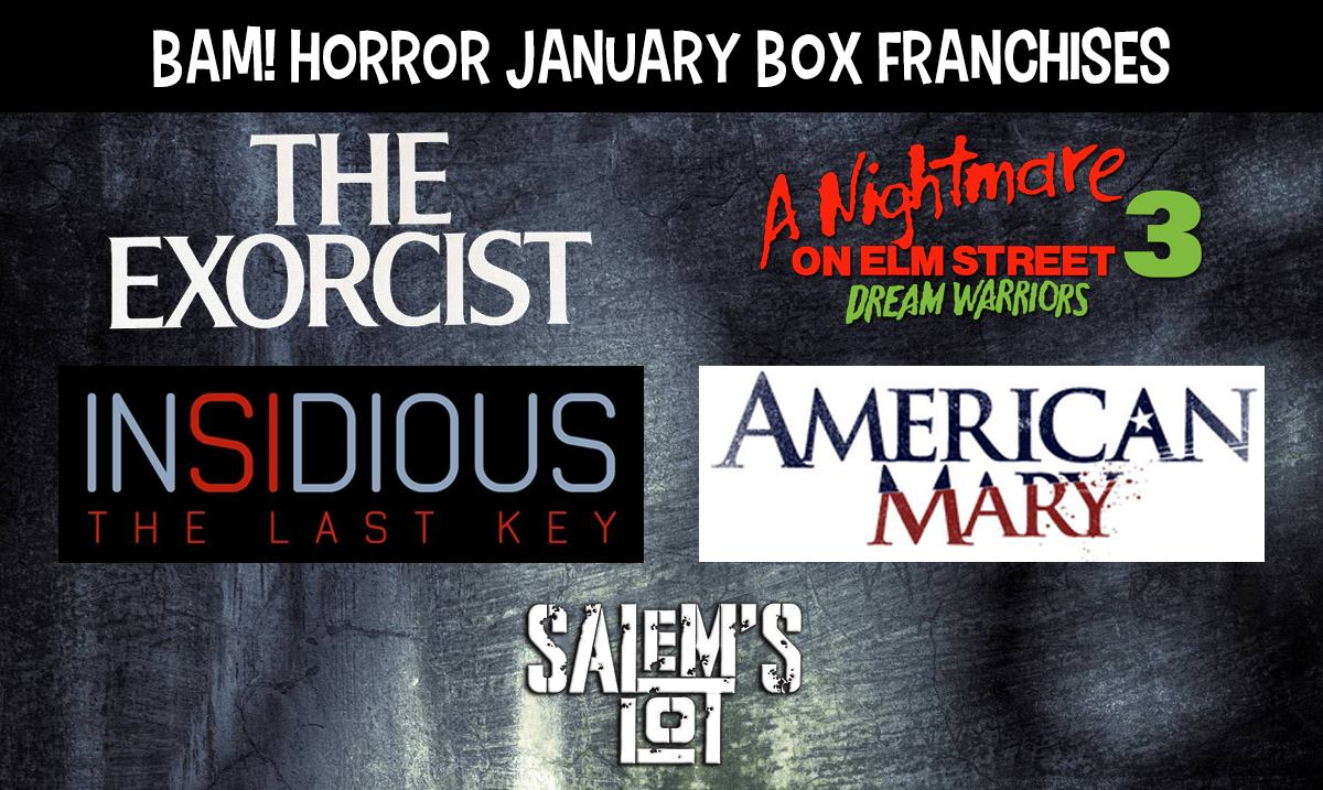 The BAM! Horror Subscription Box