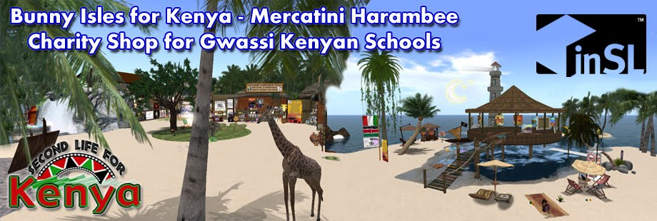 Harambee Kenya in Second Life