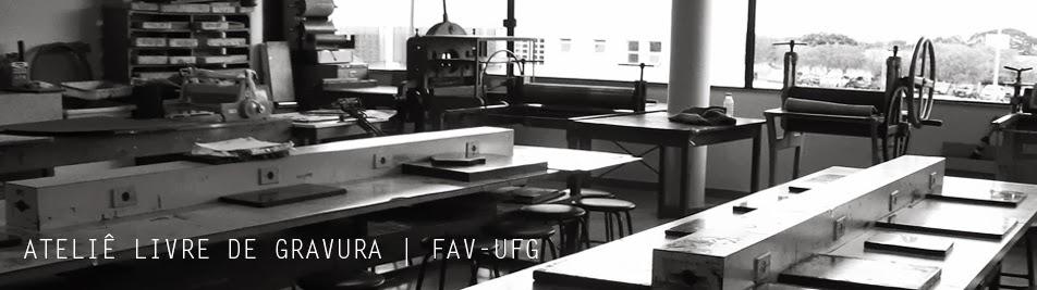 ATELIÊ LIVRE DE GRAVURA | FAV-UFG