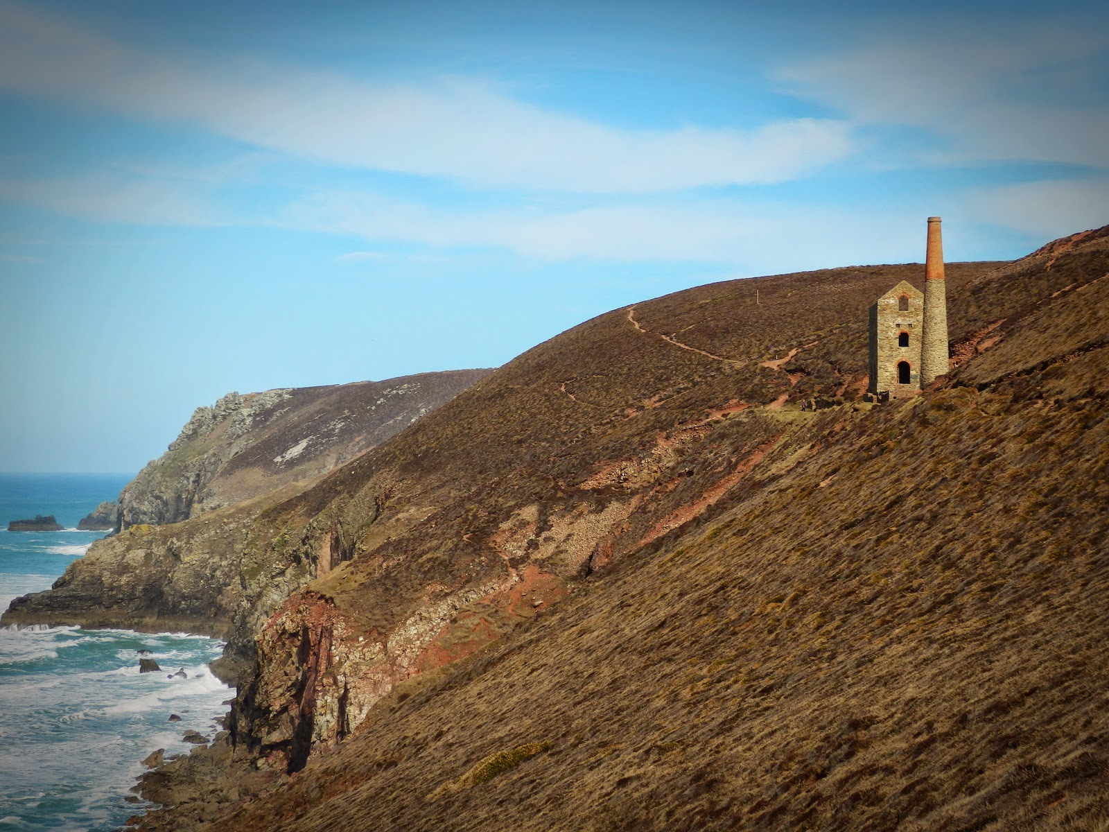 Wheal Coates tin mine, Cornwall