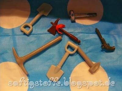 Playmo-Werkzeuge in Utensilo