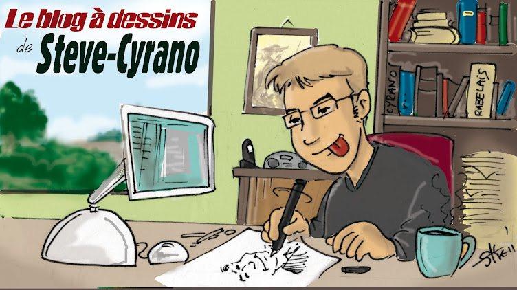 Le Blog à dessins de Steve-Cyrano