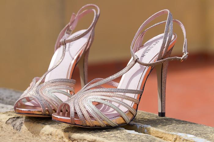 Zapatos con tiras peeptoes para ocasiones especiales