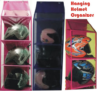 gambar hanging helmet organizer,gambar rak susun helm