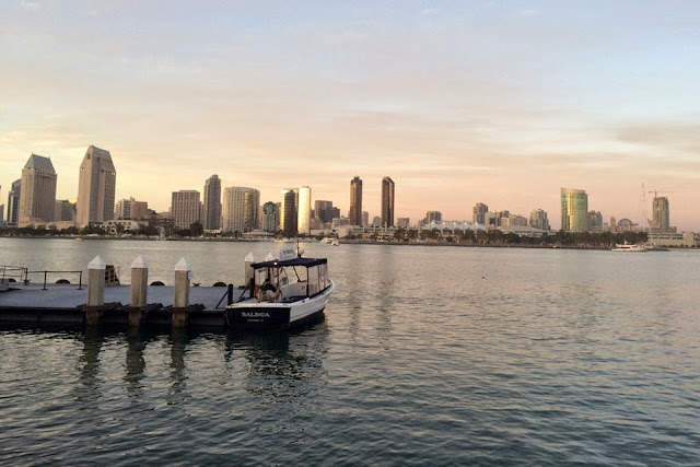 san diego ocean skyline