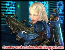 Download Metal Arena Alice Blue from Counter Strike Online Character Skin for Counter Strike 1.6 and Condition Zero | Counter Strike Skin | Skin Counter Strike | Counter Strike Skins | Skins Counter Strike
