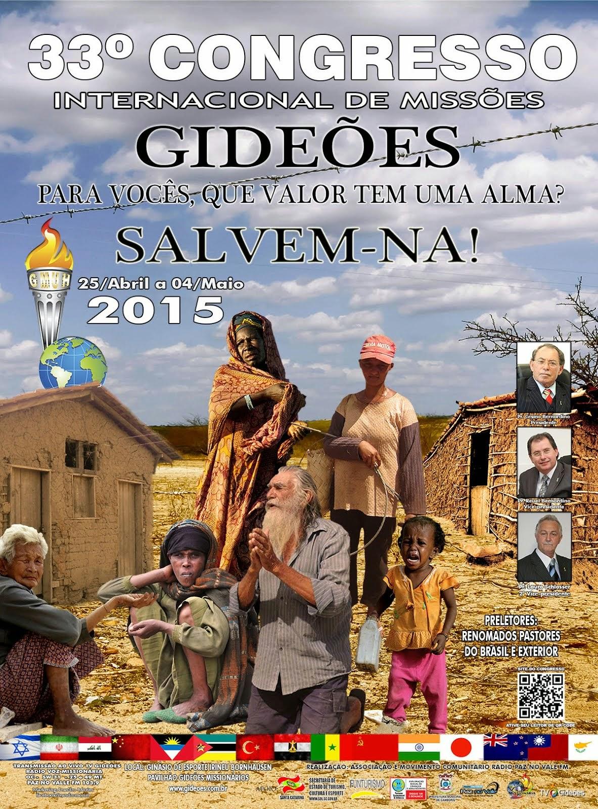 Gideões Missionários da Ultima Hora 2015