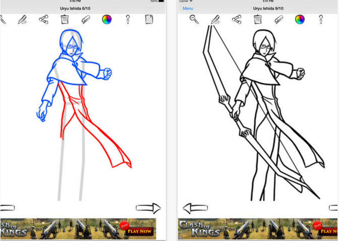 Drawing Anime Manga Heroes With This Application Can Be Easy For Kids And  Adults Just Choose A Lesson You Want To Draw And Try To Do It!