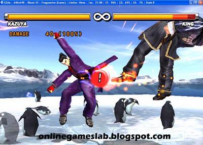 kazuya mishima,kazuya in tekken 5,tekken 5 game