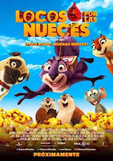 Locos por las Nueces (The Nut Job) Poster