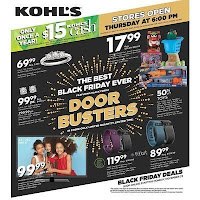 black friday kohls sale 2015