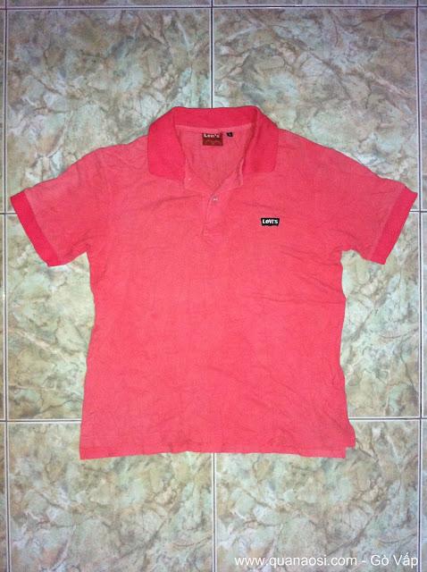 Áo thun LEVIS màu đỏ giá rẻ 50k