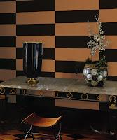 Roberto Cavalli, Pret Tapet, Modele Tapet, Montaj Tapet, Tapet Lux, model linii negru pe maro