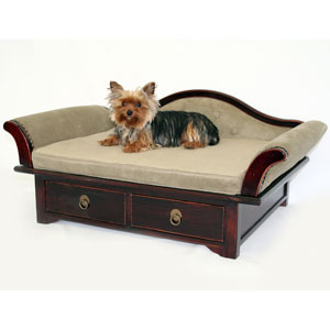Dogbeds wooden dog beds for Wood dog bed furniture
