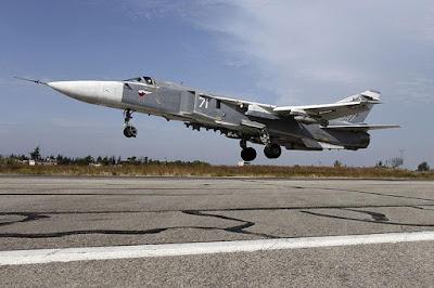 Oroszország, Szíria, szír polgárháború, Iszlám Állam, F16, Szu-24, orosz vadászgép