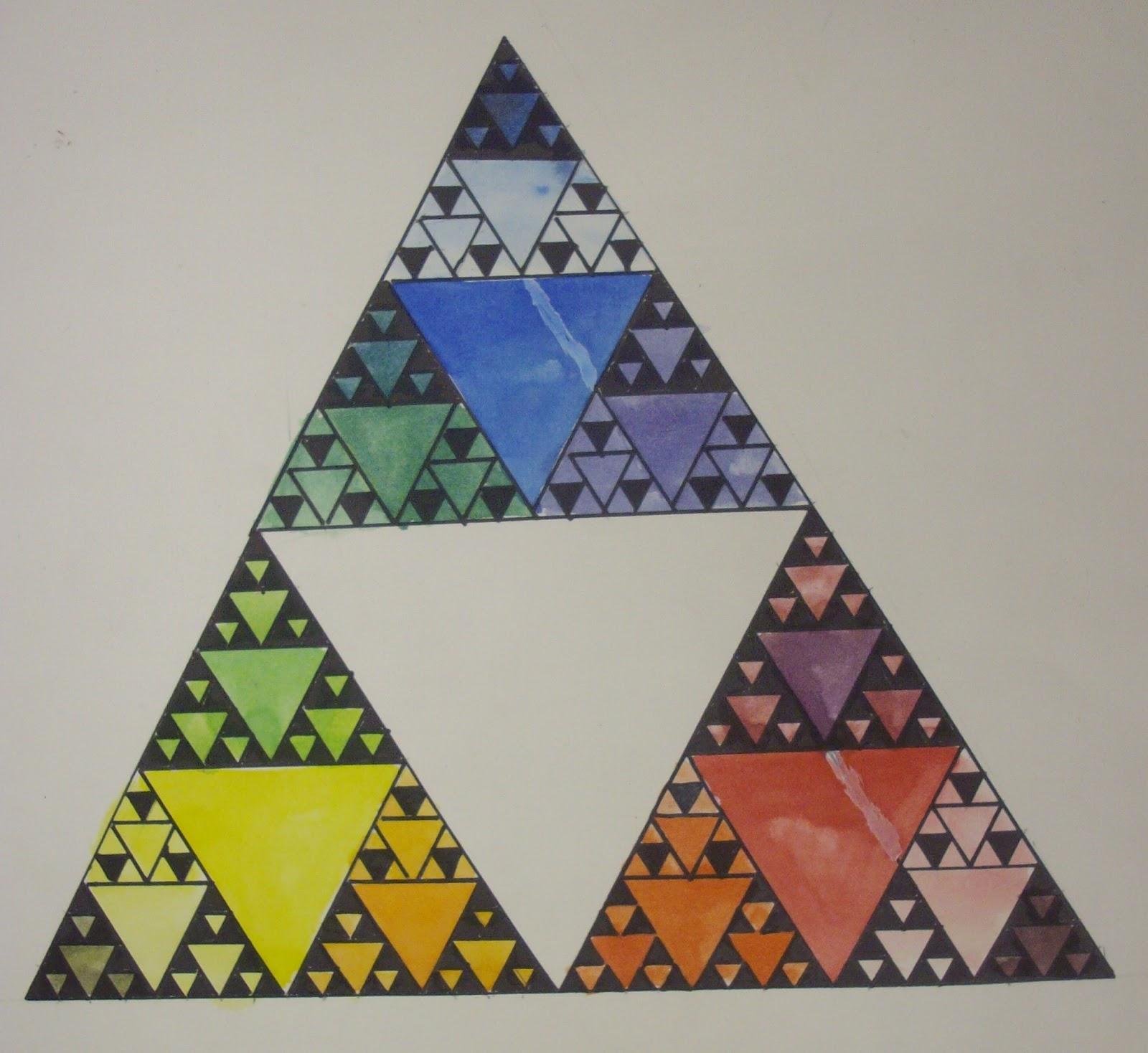 Worksheet Sierpinski Triangle Worksheet fractals triangles and teaching on pinterest sierpinskis triangle colorwheel