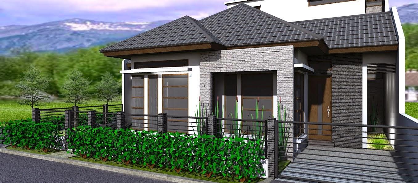 Desain Rumah Minimalis Modern 1 Lantai Terbaik 2014 Desain Rumah