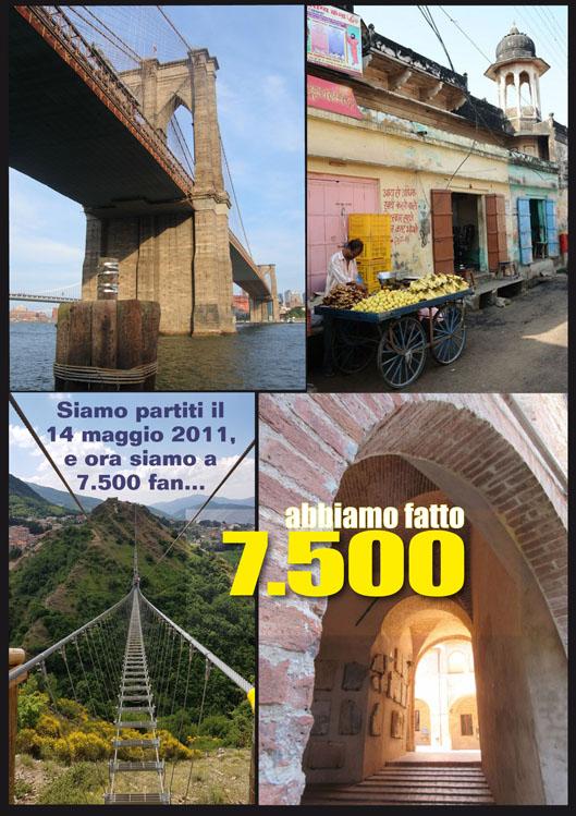 """7.500 FAN DI """"SULLE VIE DEL MONDO"""""""