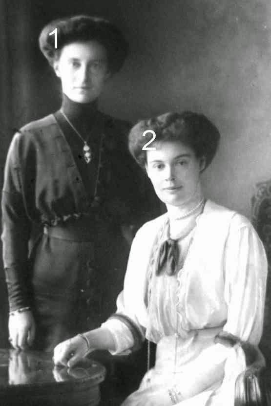 Reine Alexandrine de Danemark et princesse héritière Cecilie