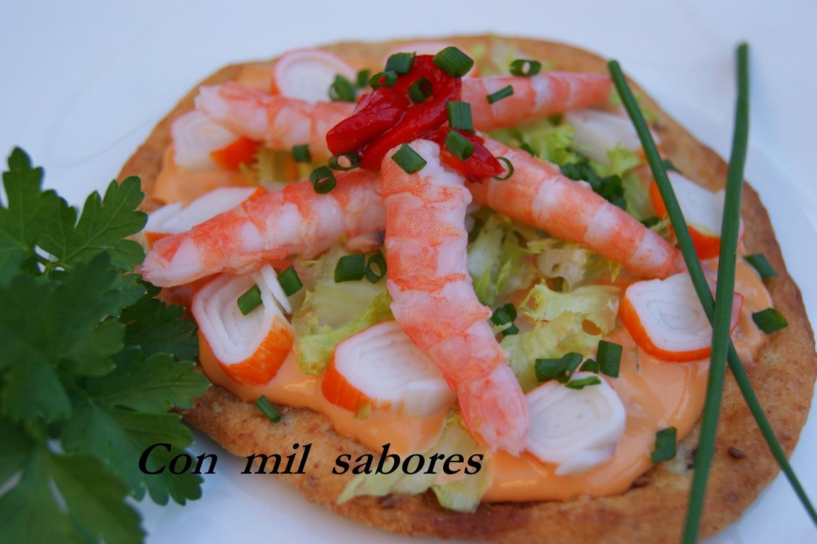 Con mil sabores c ctel de marisco especial - Coctel de marisco ingredientes ...