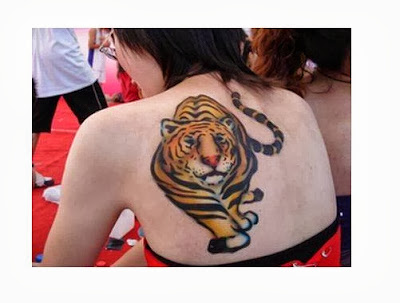 Tattoos de Tigre