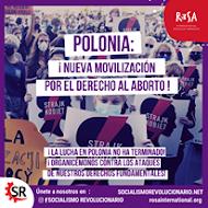 Polonia: Nueva movilización por el derecho al aborto