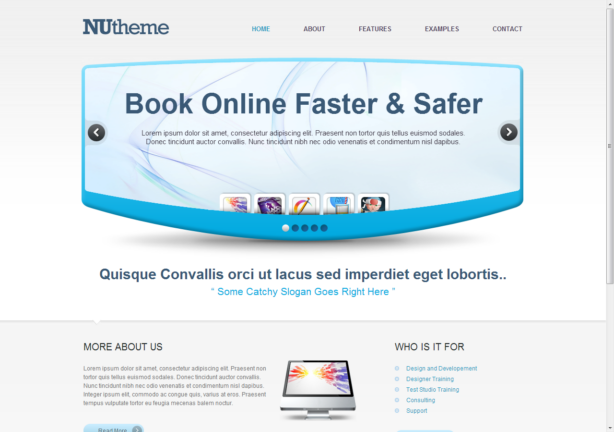 Html5 Css Template. 30 latest html5 and css3 web templates. top 50 ...
