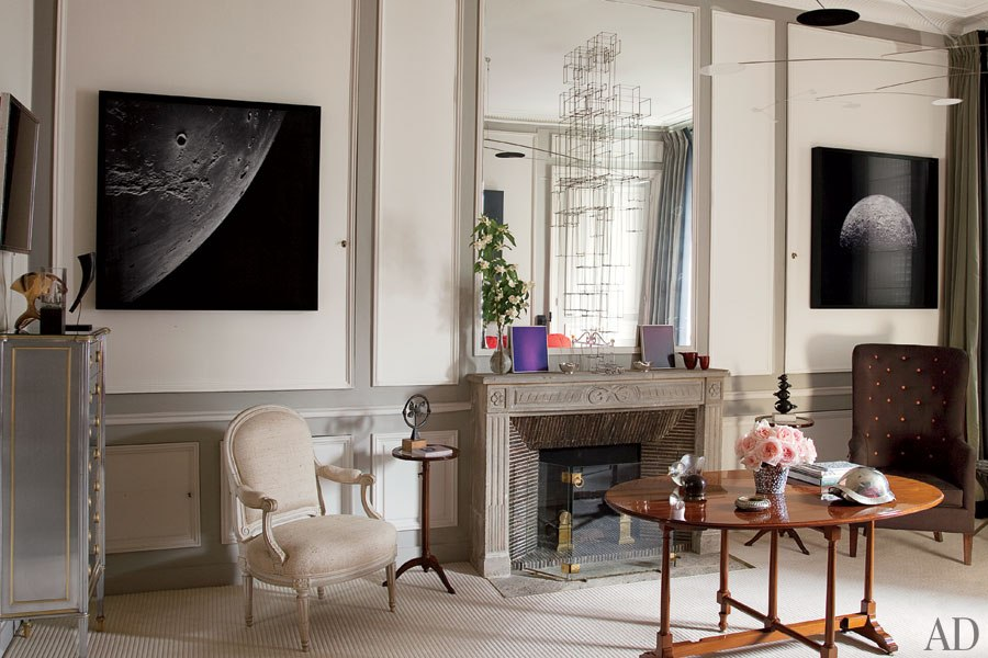 loveisspeed.......: TINO ZERVUDACHI'S ARTFUL PARIS APARTMENT After ...