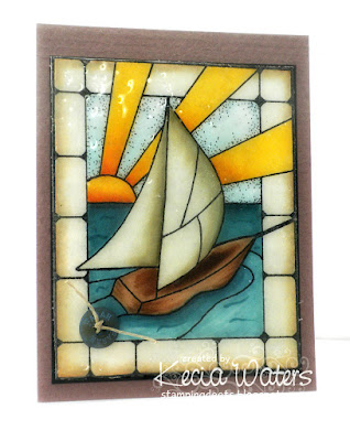Rubbernecker, Kecia Waters, Copic markers, stain glass, UTEE
