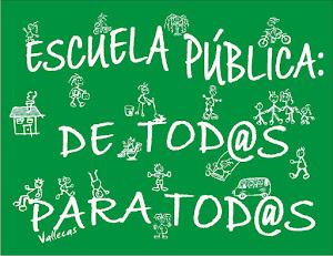 Escuela pública para tod@s