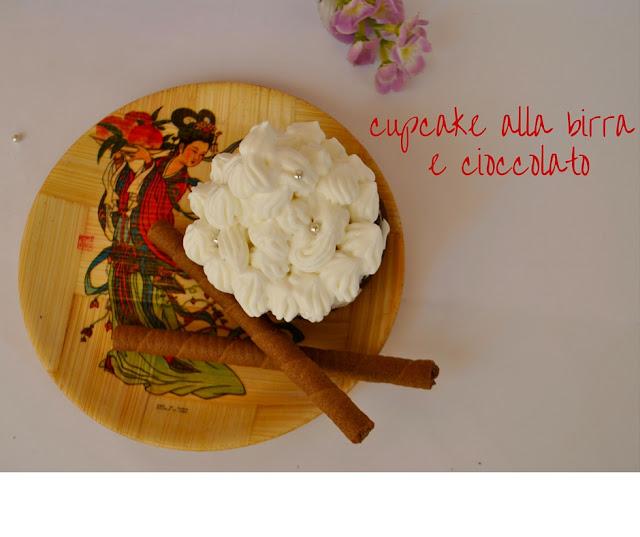 cupcake al cioccolato cupcake alla birra ricetta cupcake come fare i cupcake birra sud ricette con il cioccolato mariafelicia magno fashion blogger life style recipe chocolate cupcake
