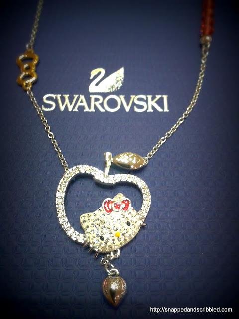 Hello Kitty + Swarovski = PERFECT