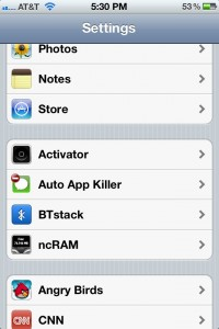 screenshot 1 Auto App Killer v3.0.3