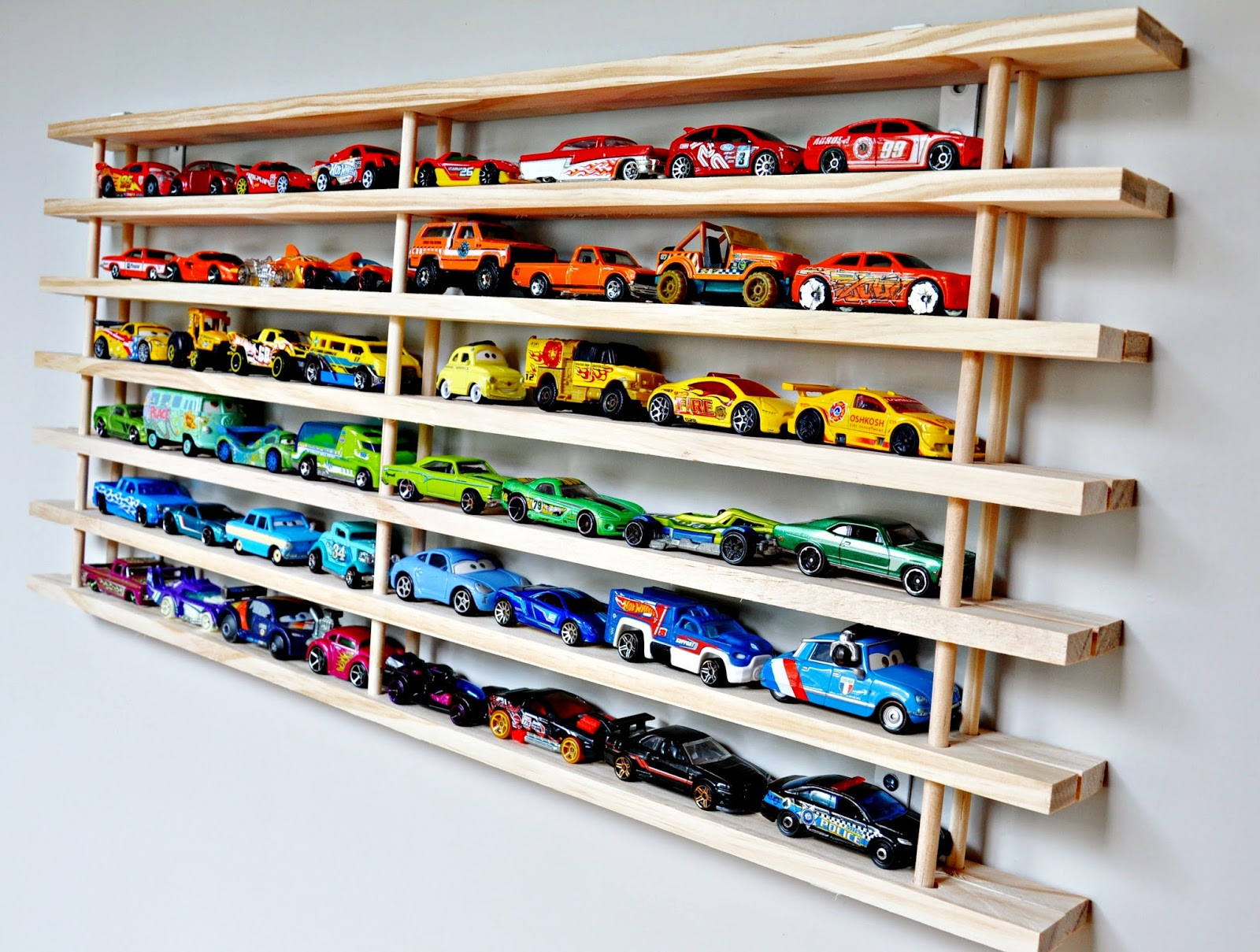 ... with us to put the brakes on toy car clutter at Mom! Where's mycar