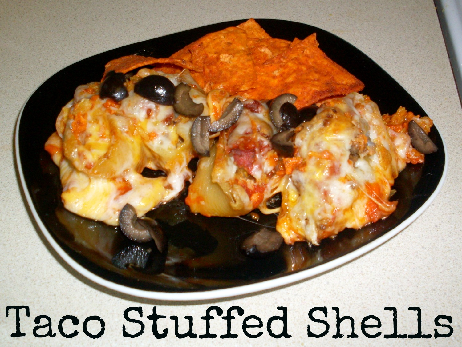 this Workman life: Taco Stuffed Shells Recipe