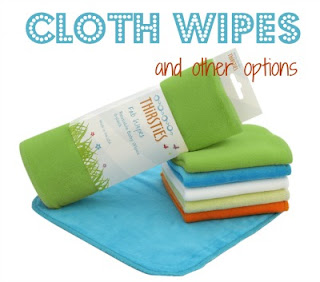 Cloth diaper wipes and other options @clothdiaperwhis