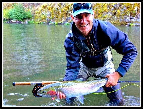 Gorge fly shop blog klickitat river late season with john for Klickitat river fishing report