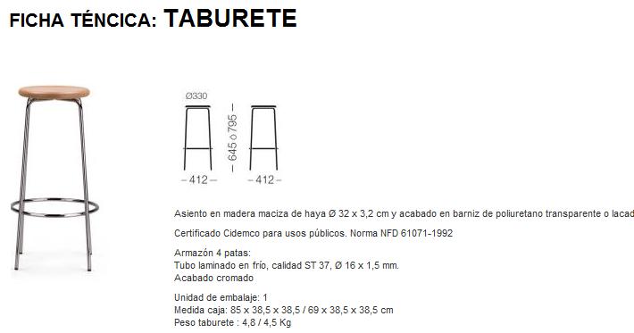 T cnico auxiliar en dise o industrial ficha t cnica de un for Especificaciones tecnicas de mobiliario de oficina