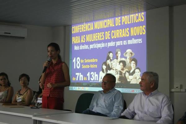 Conferência Municipal da Mulher discutiu mais direitos e oportunidades para as currais-novenses