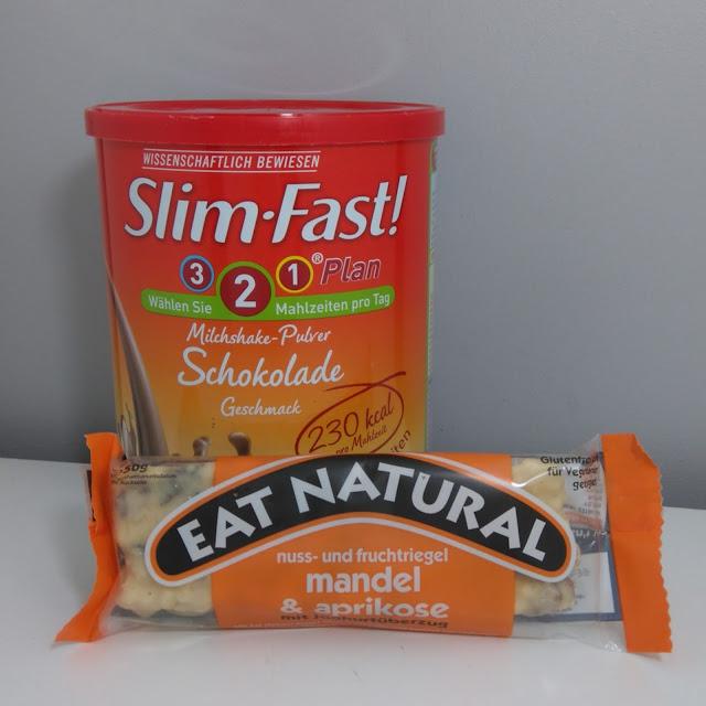 slim fast, régime, eat natural, barre de céréales, nu3, bullelodie