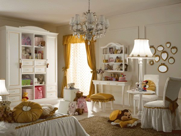 LUXURY GIRLS BEDROOM DESIGN CONCEPT