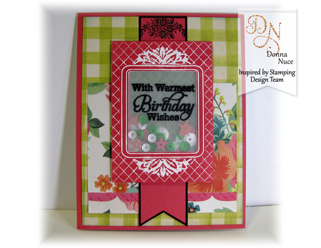 Inspired by Stamping, Crafty Colonel, A Lovely Birthday, Birthday Card